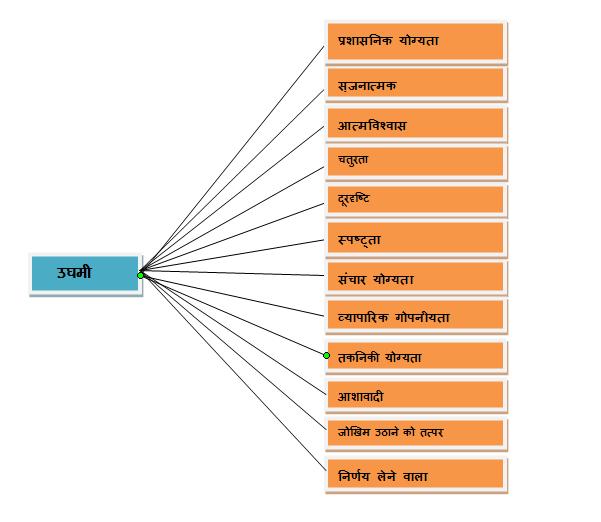 entrepreneur characteristics in hindi