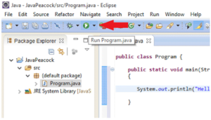 How to compile and run a java program