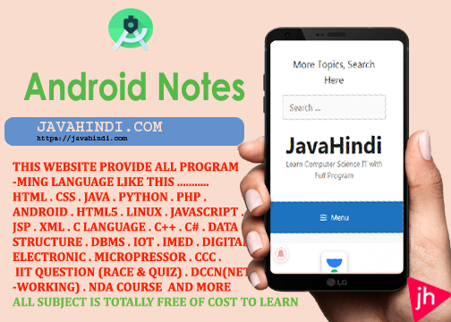 Android Notes in hindi