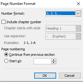 what is page number in hindi