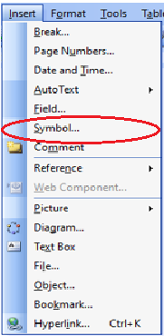 what is symbols in hindi